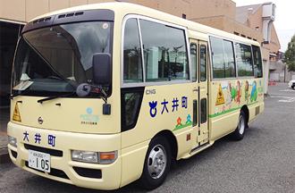 大井町さま 幼稚園バス