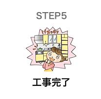 STEP6 工事完了