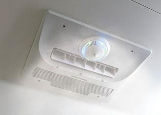 ミストサウナ付き浴室暖房乾燥機イメージ